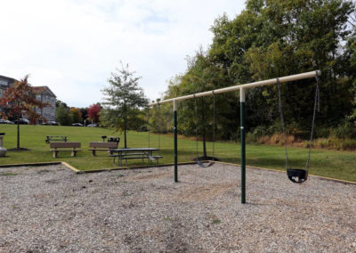 Swing set for Saucon View apartment children in Bethlehem, PA