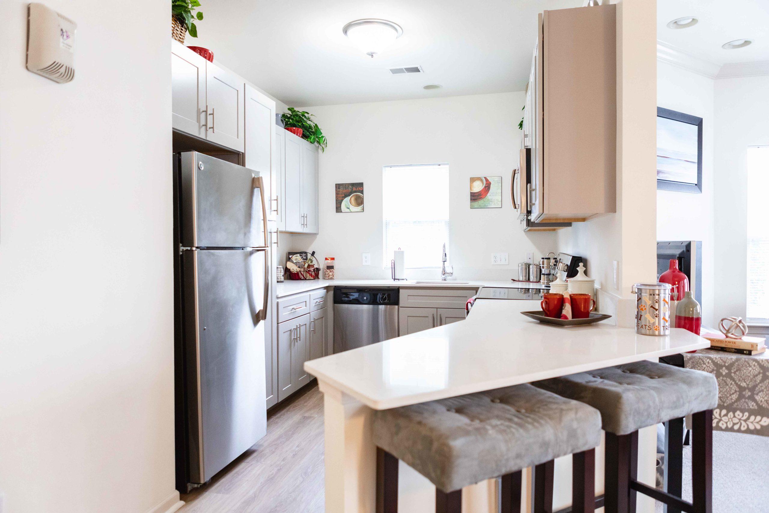Saucon View - Kitchen & Living Room
